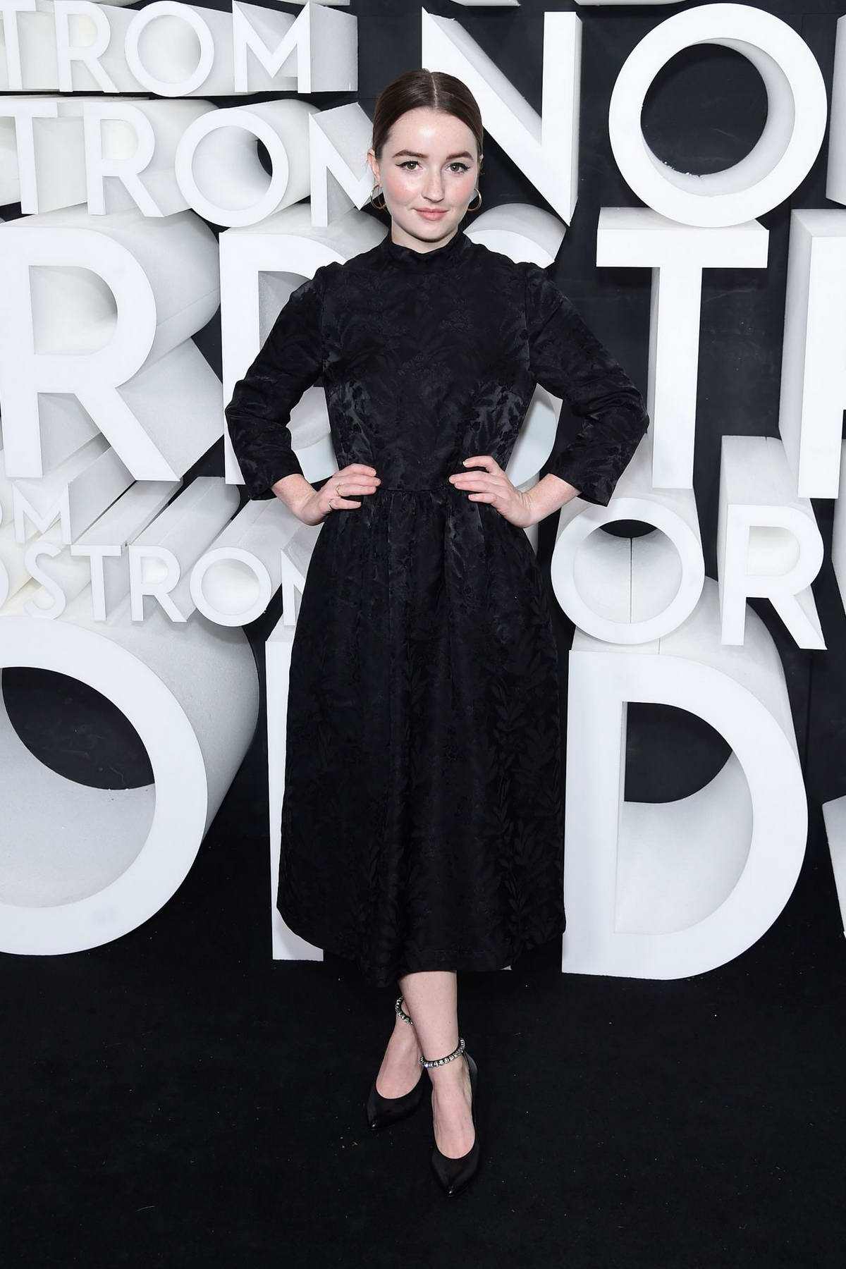 Kaitlyn Dever attends the Nordstrom NY Flagship Opening Party in New York City