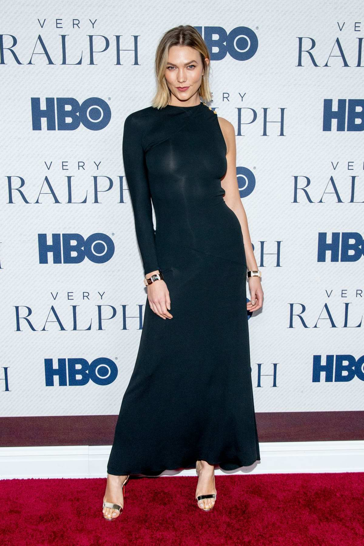 Karlie Kloss attends the World Premiere of HBO's 'Very Ralph' at the Metropolitan Museum of Art in New York City