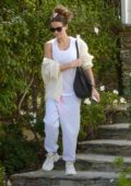 Kate Beckinsale sports a casual look as she heads out in Los Angeles