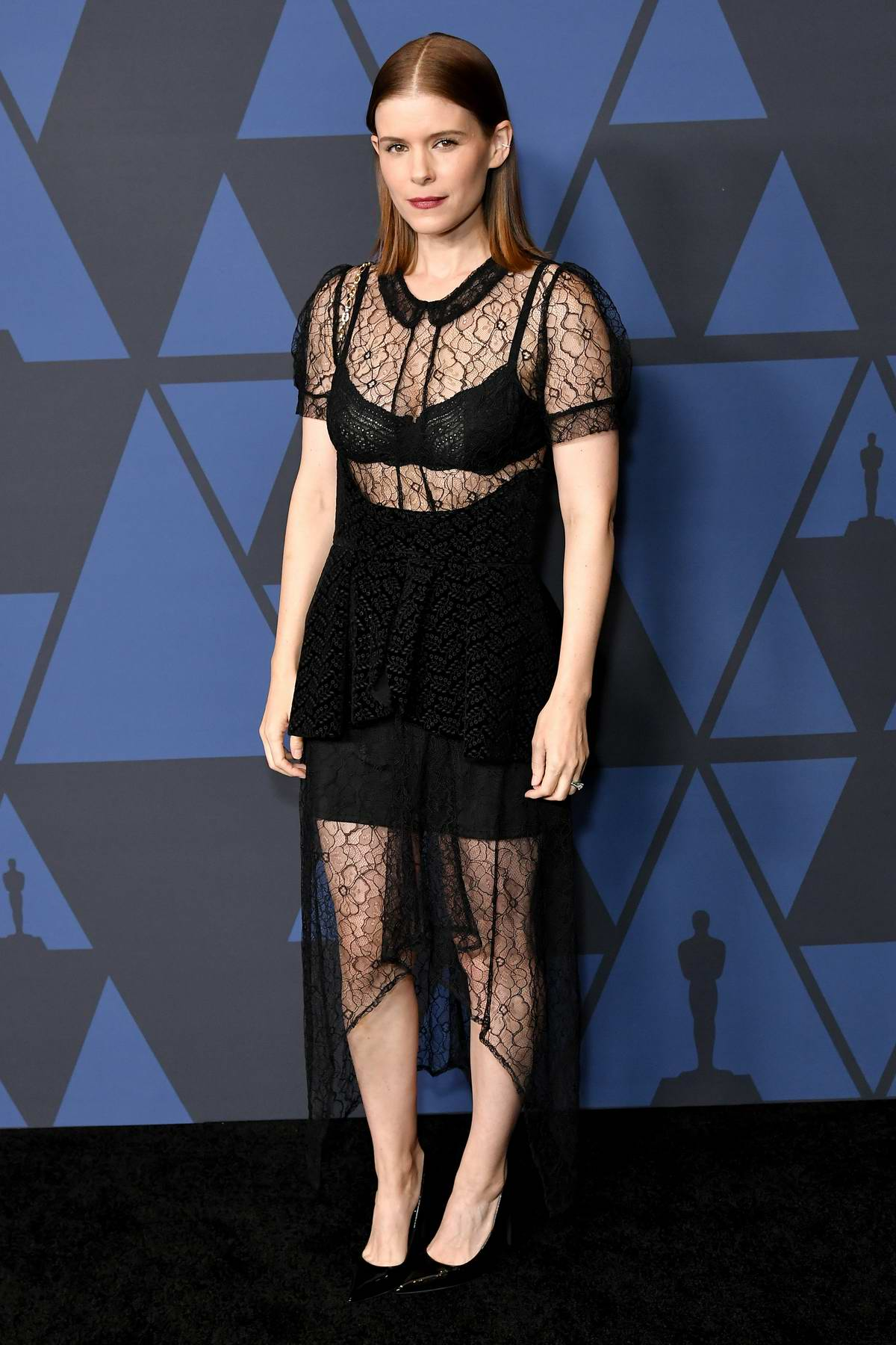 Kate Mara attends the Academy of Motion Picture Arts and Sciences' 11th Annual Governors Awards in Hollywood, California