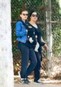 Kate Mara brings her adorable baby girl on hike through Griffith Park in Los Feliz, California