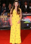 Katherine Langford attends the European Premiere of 'Knives Out' during the BFI London Film Festival 2019 in London, UK