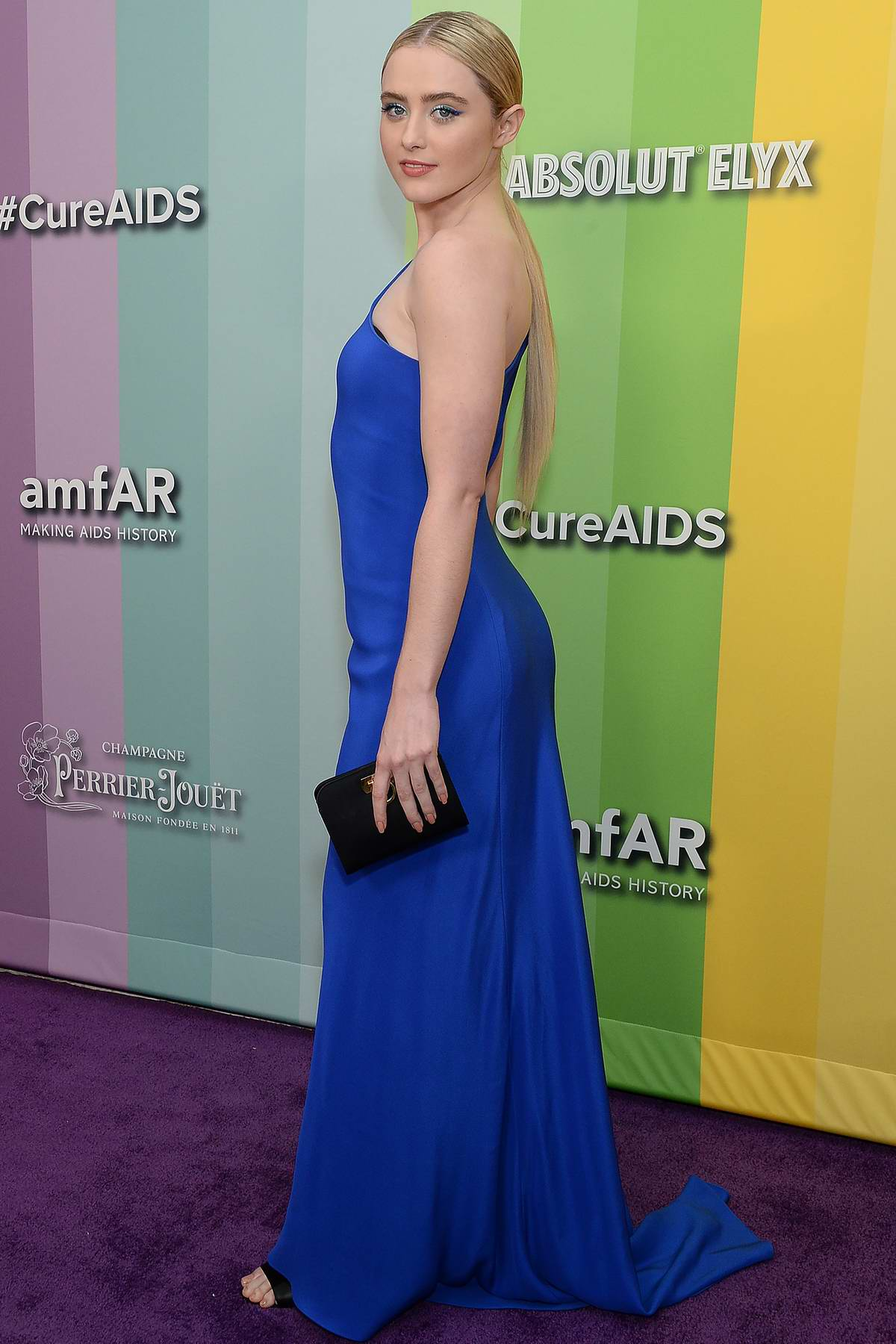 Kathryn Newton attends the 2019 amfAR Inspiration Gala at Milk Studios in Los Angeles