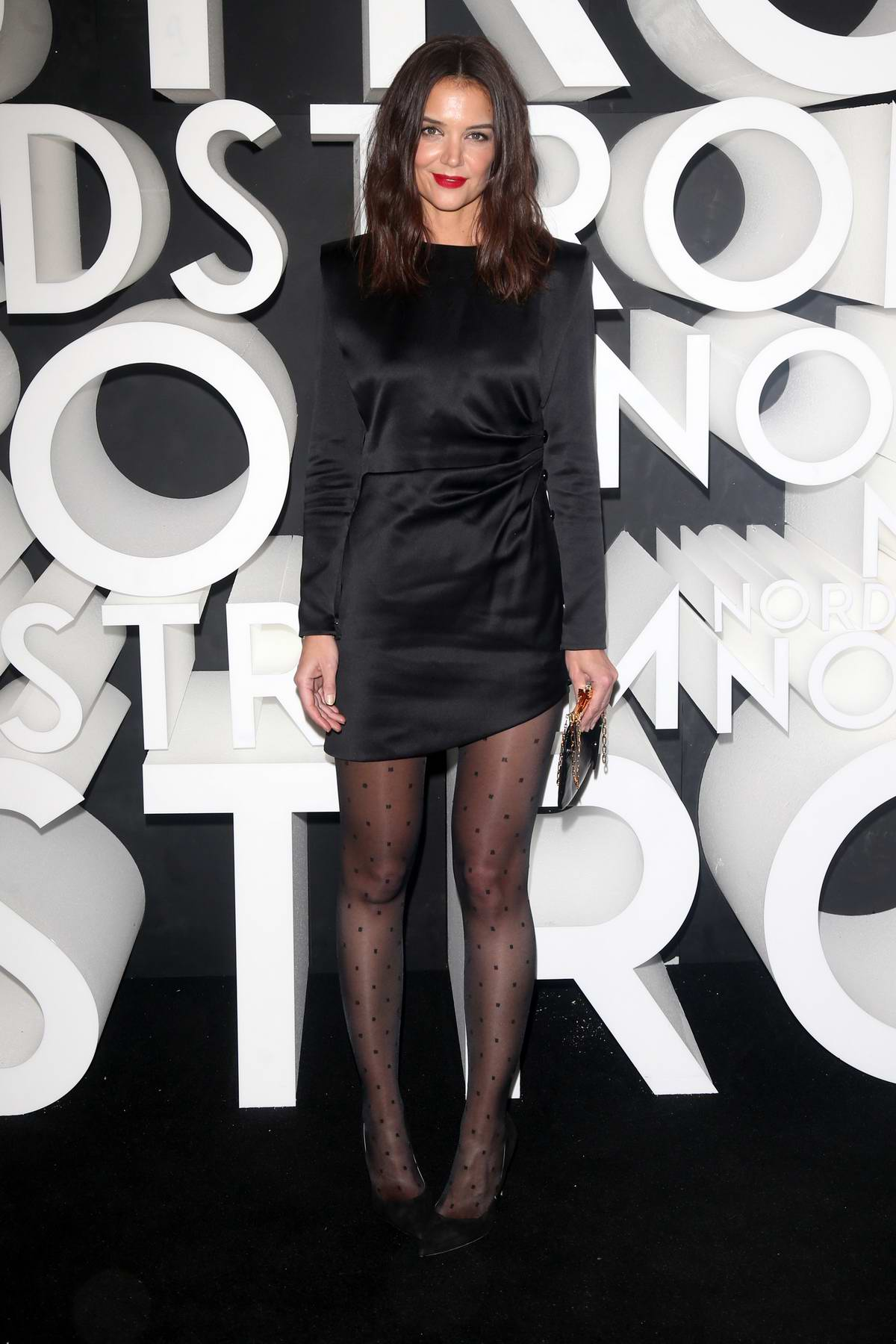 Katie Holmes attends the Nordstrom NY Flagship Opening Party in New York City