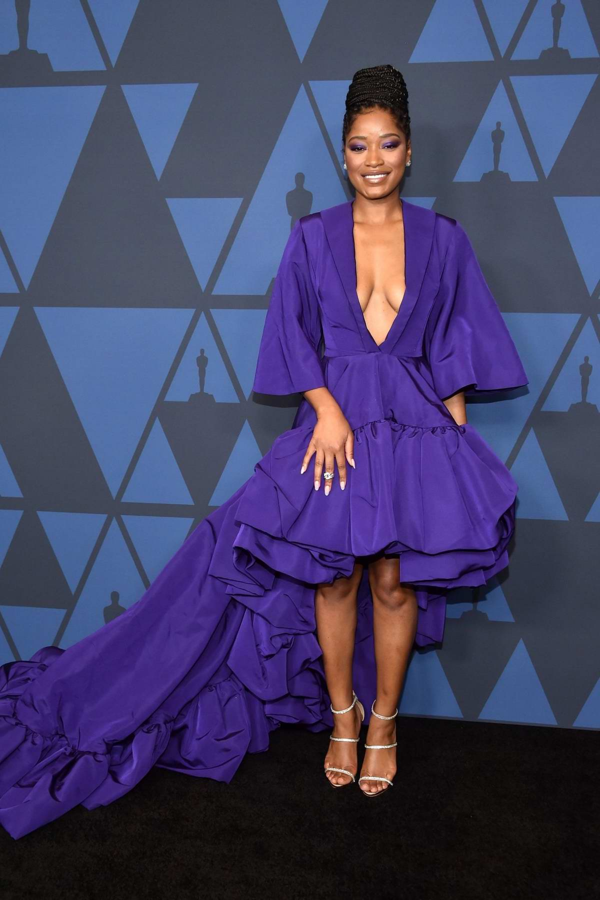 Keke Palmer attends the Academy of Motion Picture Arts and Sciences' 11th Annual Governors Awards in Hollywood, California