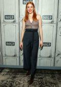 Kennedy McMann visits Build Studios to discuss 'Nancy Drew' in New York City