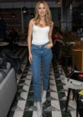 Kimberley Garner attends the Shakedown Coffee Launch Party in London, UK