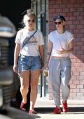 Kristen Stewart and girlfriend Dylan Meyer seen heading for a Karate class in Los Angeles