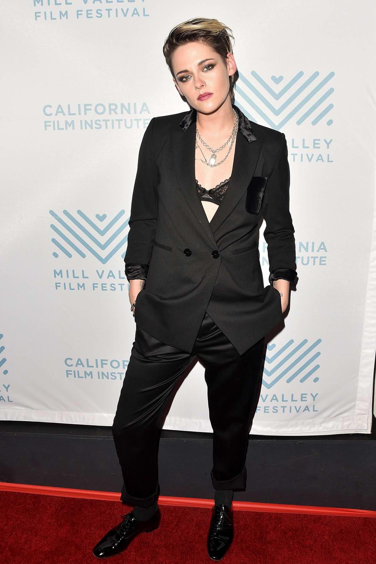 Kristen Stewart attends 'Spotlight On Kristen Stewart' for 'Seberg' during the 42nd Mill Valley Film Festival in San Rafael, California