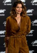 Laetitia Casta attends a photocall and press conference during the 2019 International Film Festival of Namur, Belgium