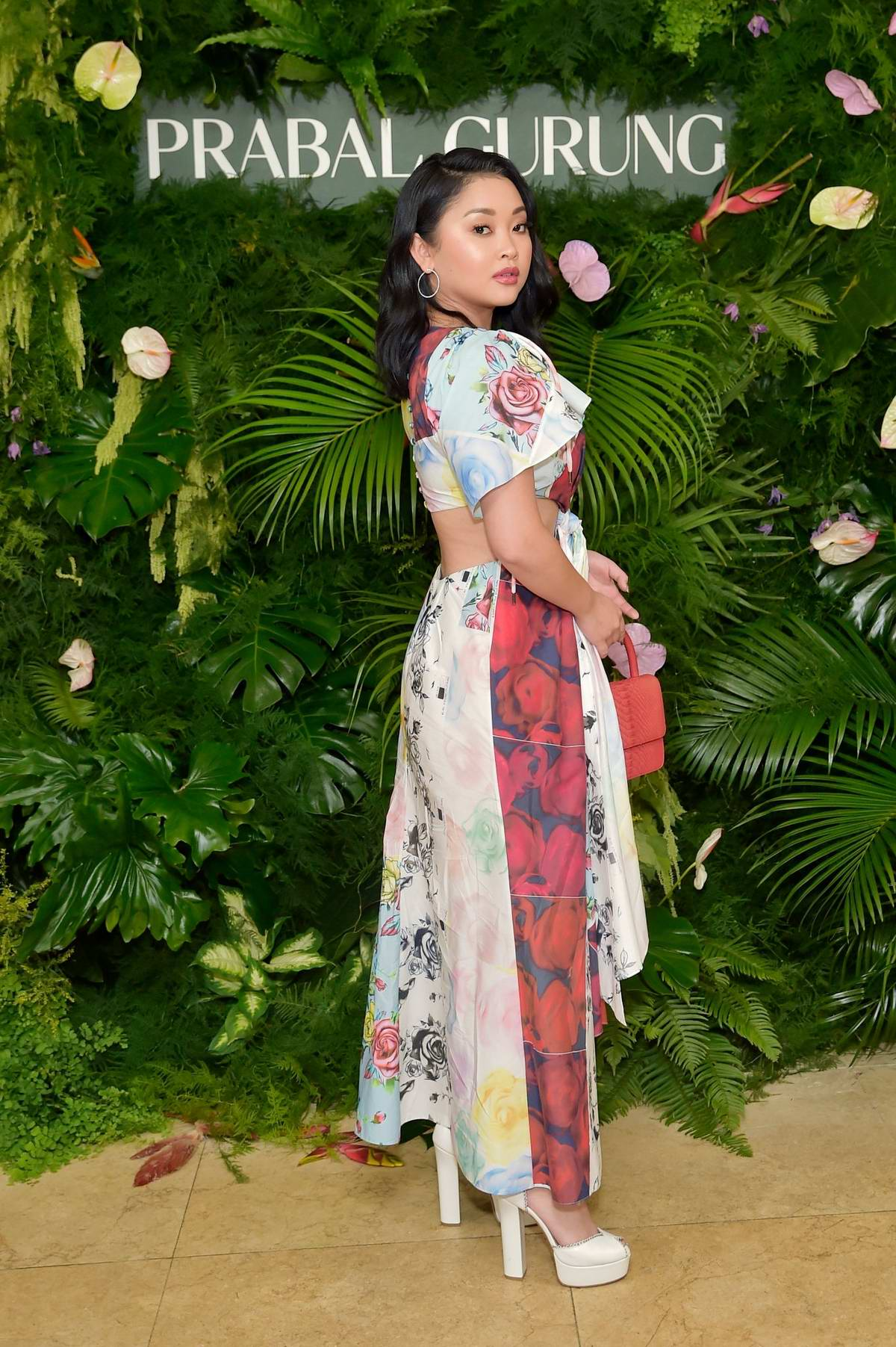 Lana Condor attends Prabal Gurung's 10 years Celebration in West Hollywood, Los Angeles