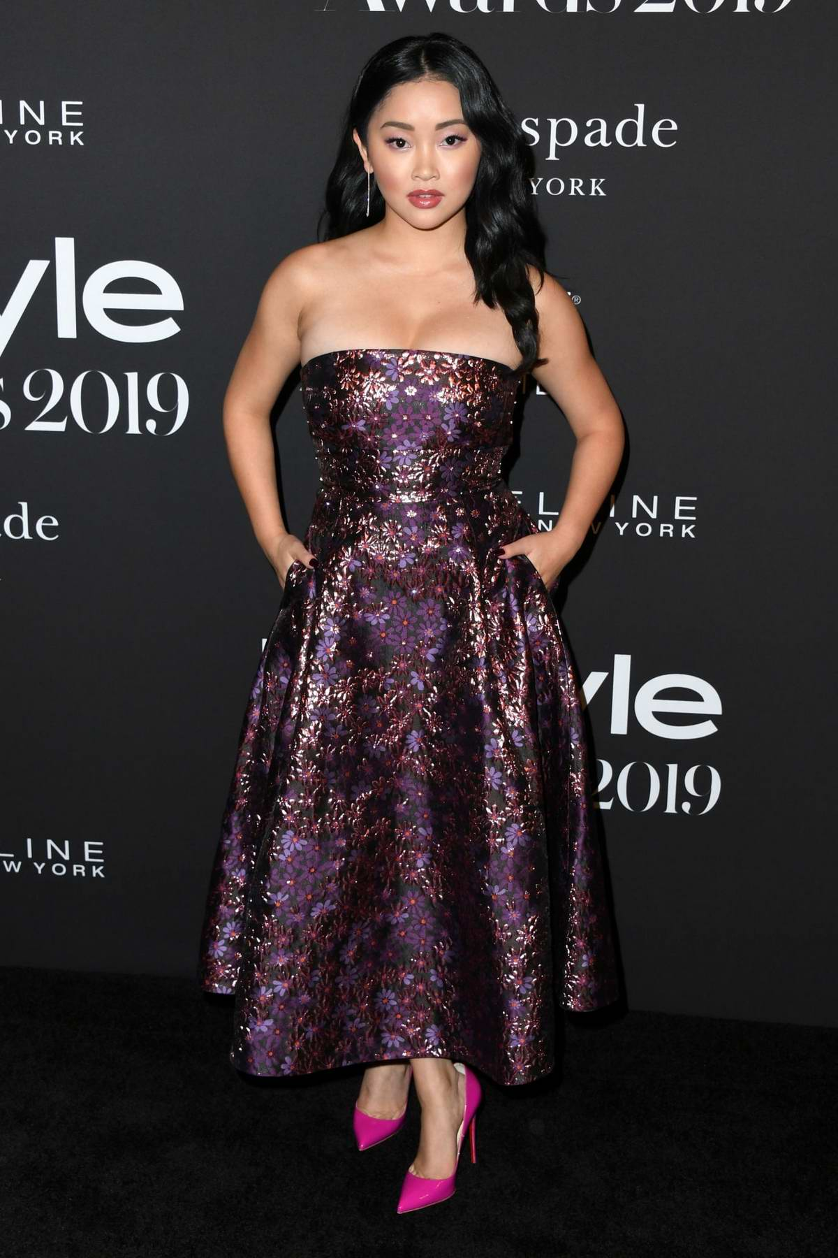 Lana Condor attends the 5th Annual InStyle Awards in Los Angeles