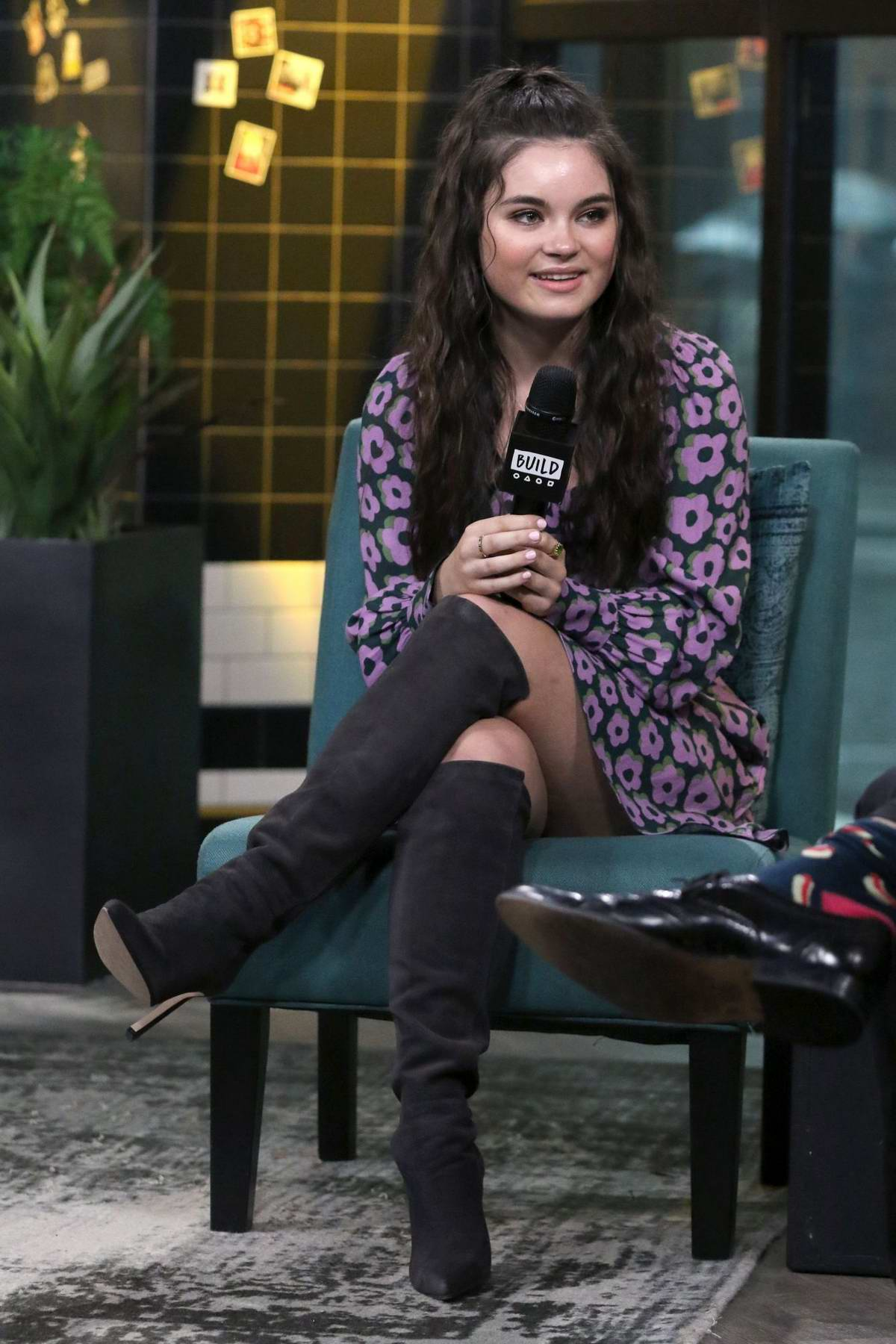 Landry Bender visits the Build Series to discuss 'Looking for Alaska' at Build Studio in New York City
