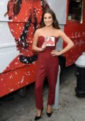 Lea Michele spotted during 'Christmas in the City' Album Promotion in Union Square, New York City