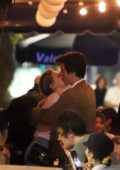 Lili Reinhart and Cole Sprouse pack on some PDA during a romantic dinner date in Echo Park, Los Angeles