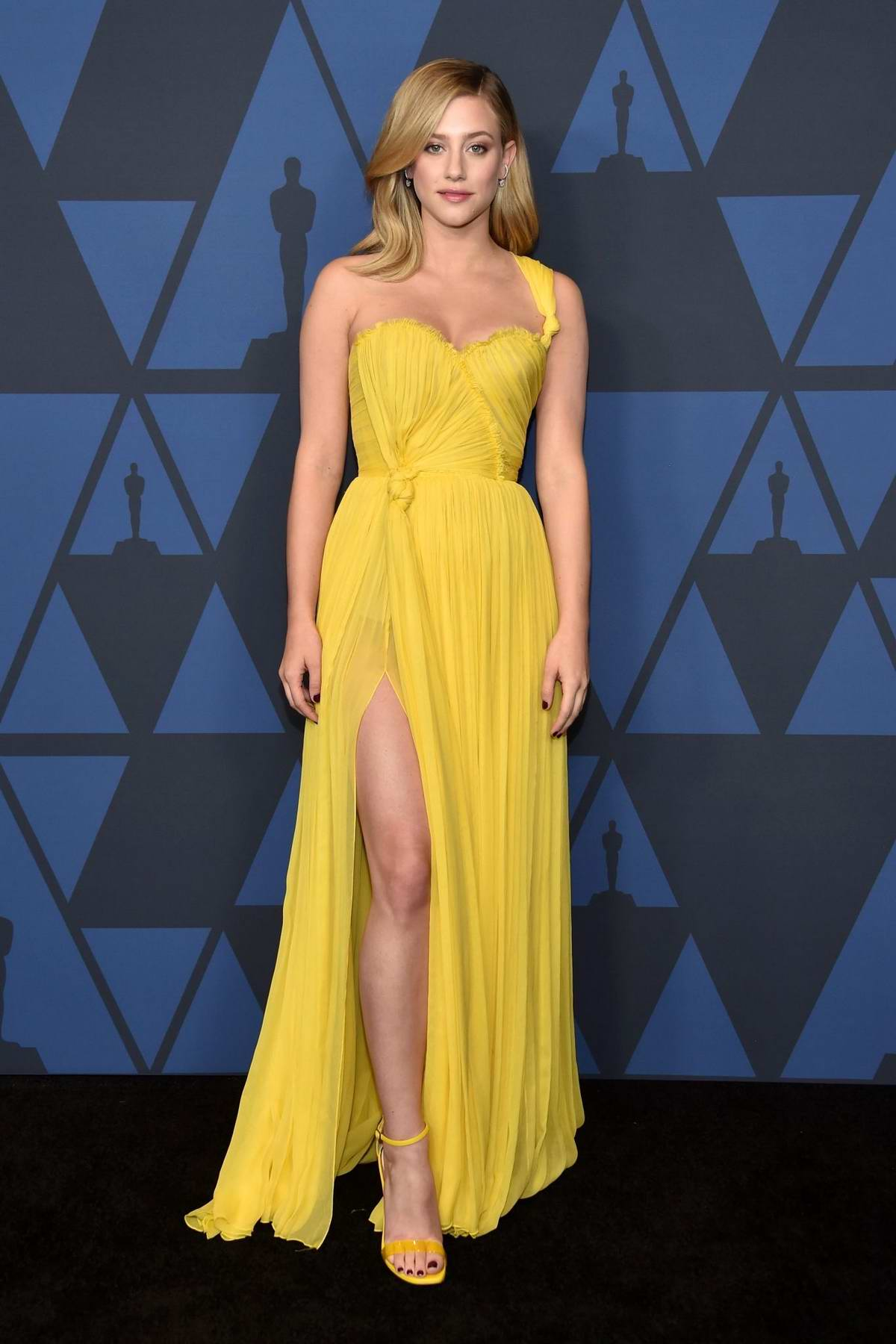 Lili Reinhart attends the Academy of Motion Picture Arts and Sciences' 11th Annual Governors Awards in Hollywood, California
