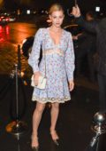 Lili Reinhart attends the Miu Miu after-party dinner during Paris Fashion Week in Paris, France