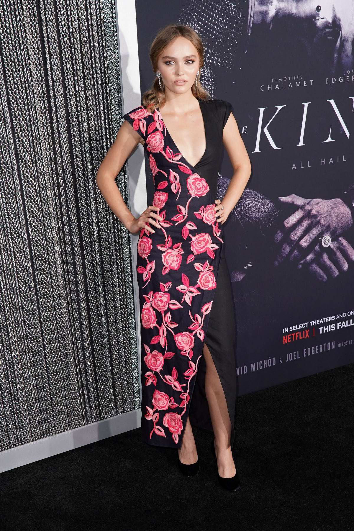 Lily-Rose Depp attends 'The King' film premiere at SVA Theater in New York City