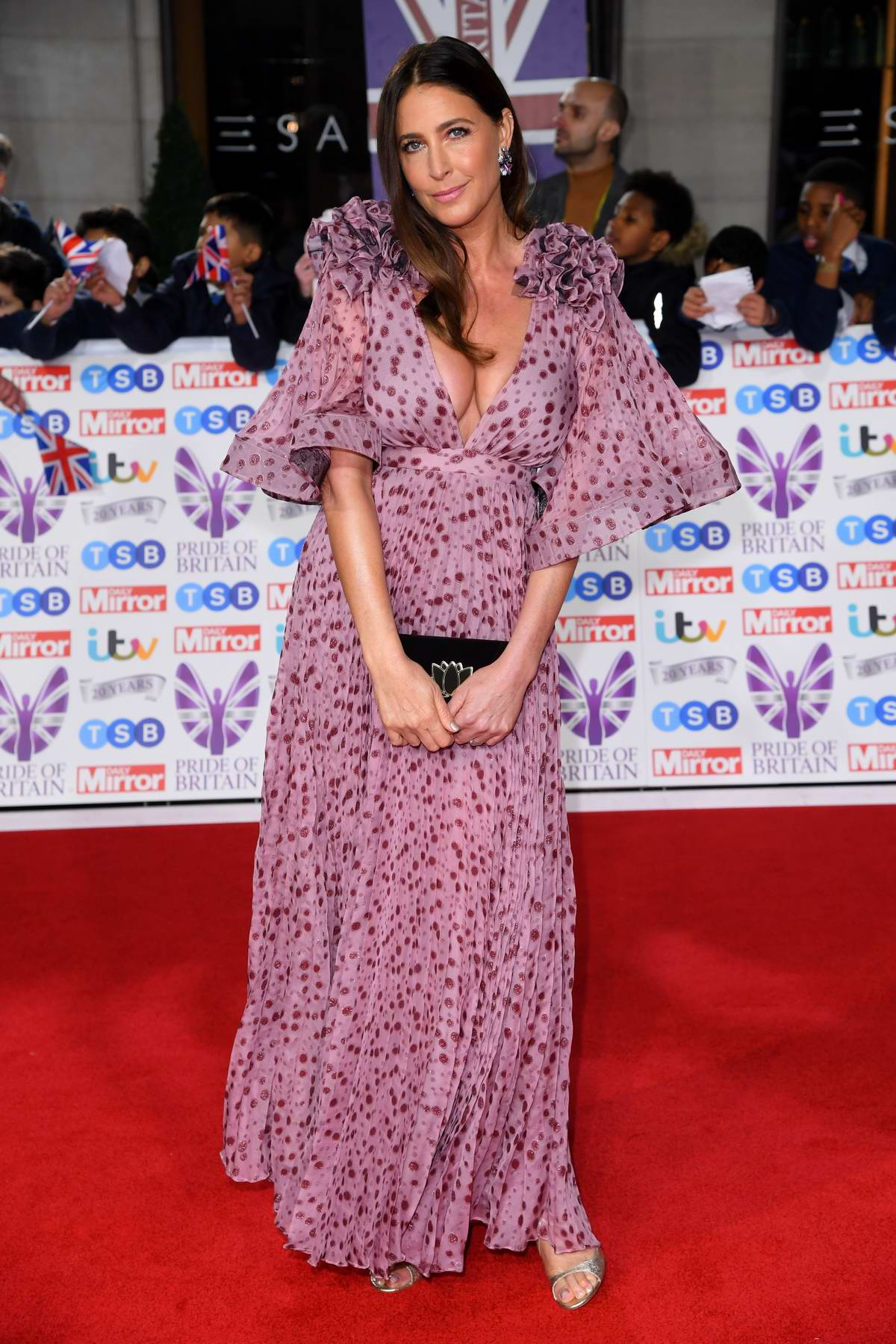 Lisa Snowdon attends the Pride of Britain Awards 2019 at Grosvenor House in London, UK
