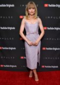 Maddie Hasson attends YouTube Originals hosts a special screening of Impulse Season 2 in West Hollywood, Los Angeles