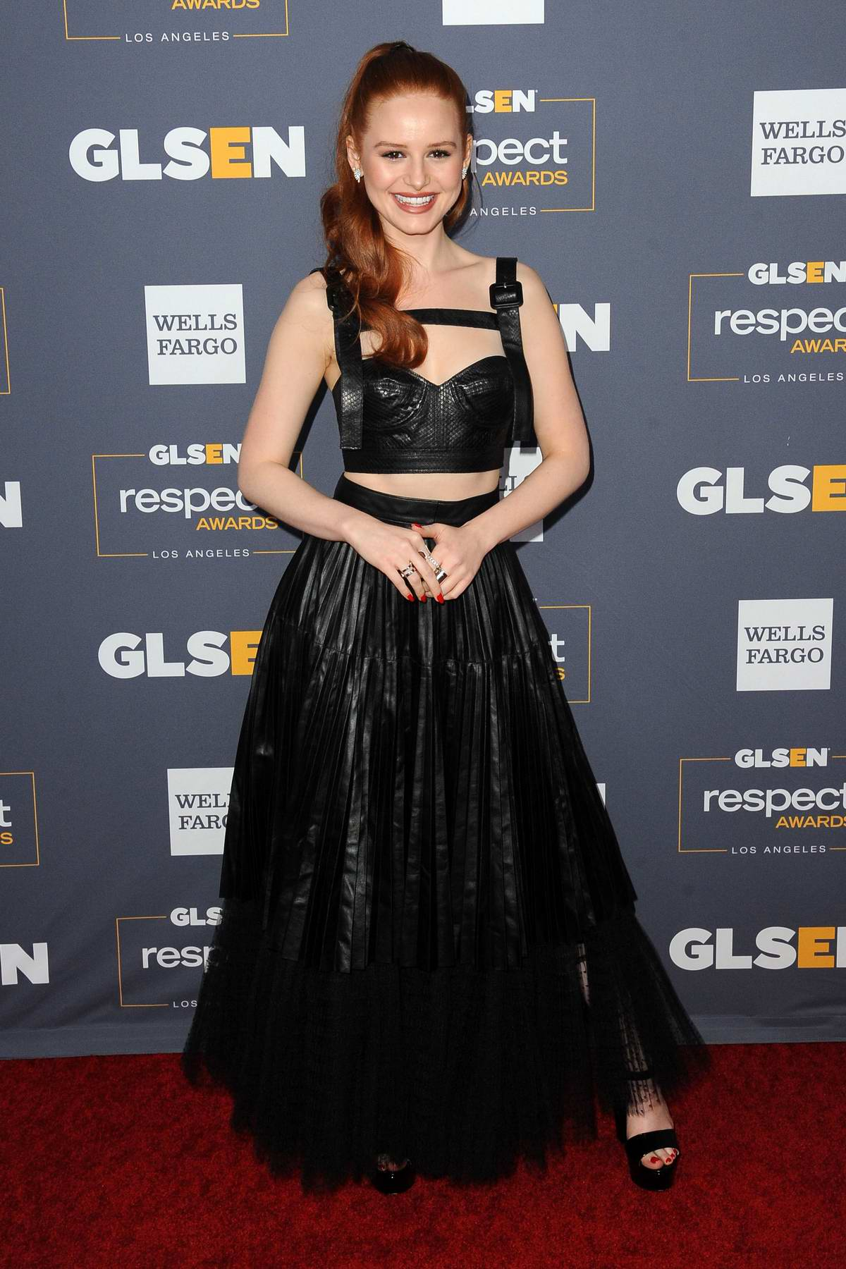 Madelaine Petsch attends the GLSEN Respect Awards in Los Angeles