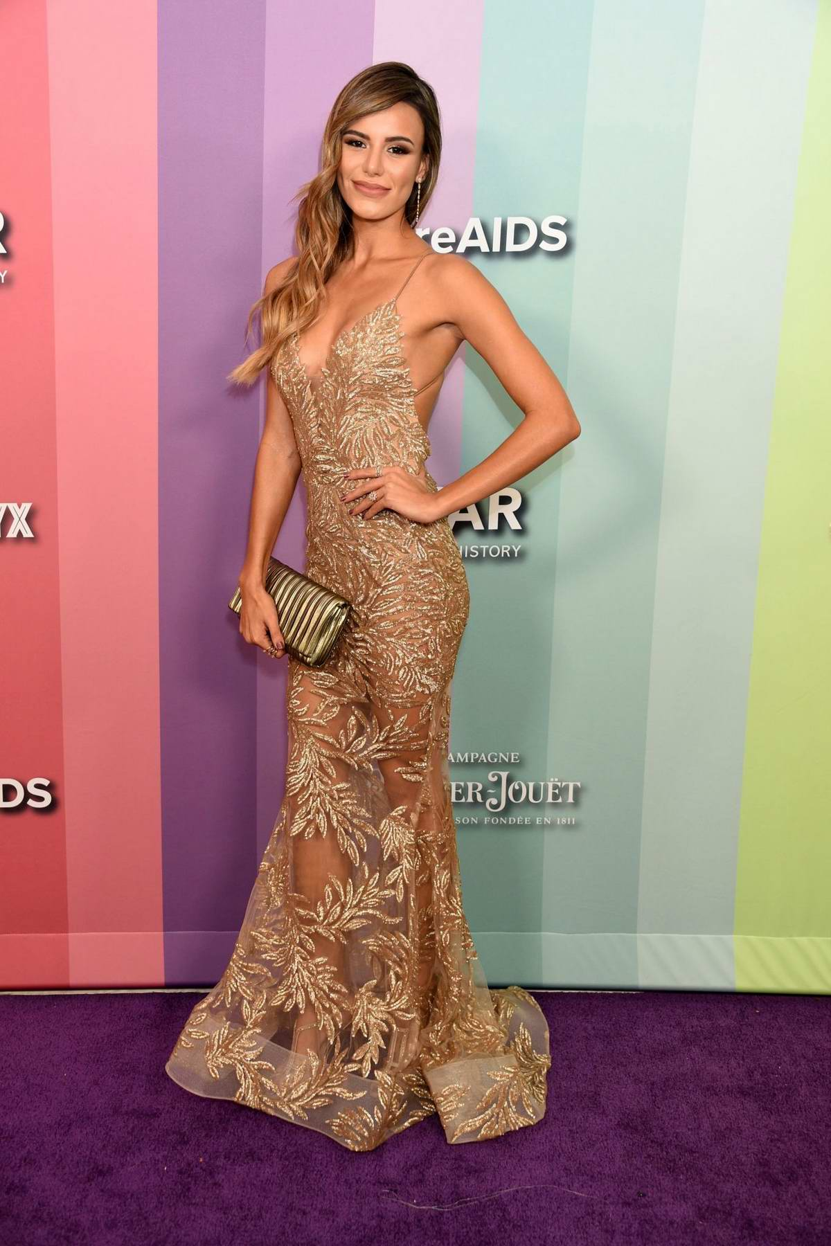 Madison Reed attends the 2019 amfAR Inspiration Gala at Milk Studios in Los Angeles