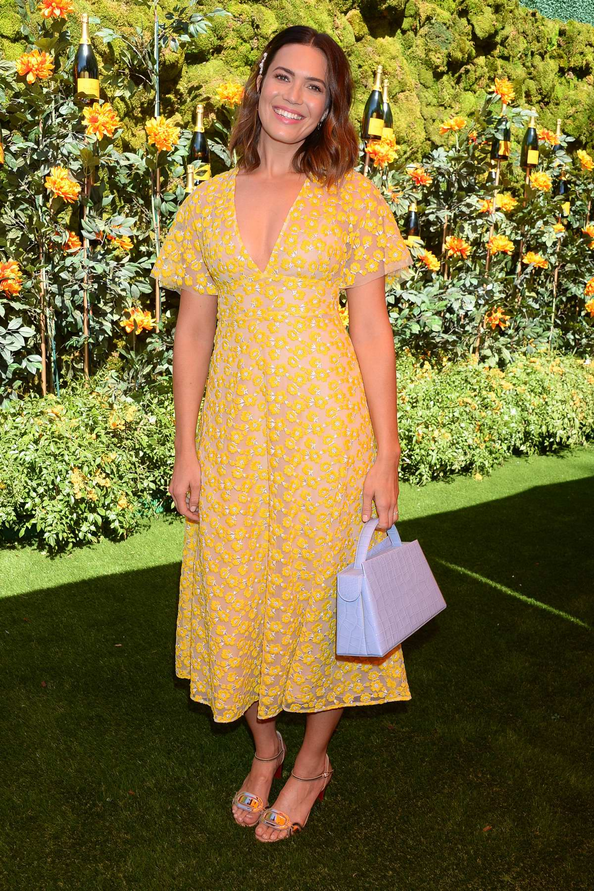 Mandy Moore attends the 10th annual Veuve Clicquot Polo Classic at Will Rogers State Park in Los Angeles
