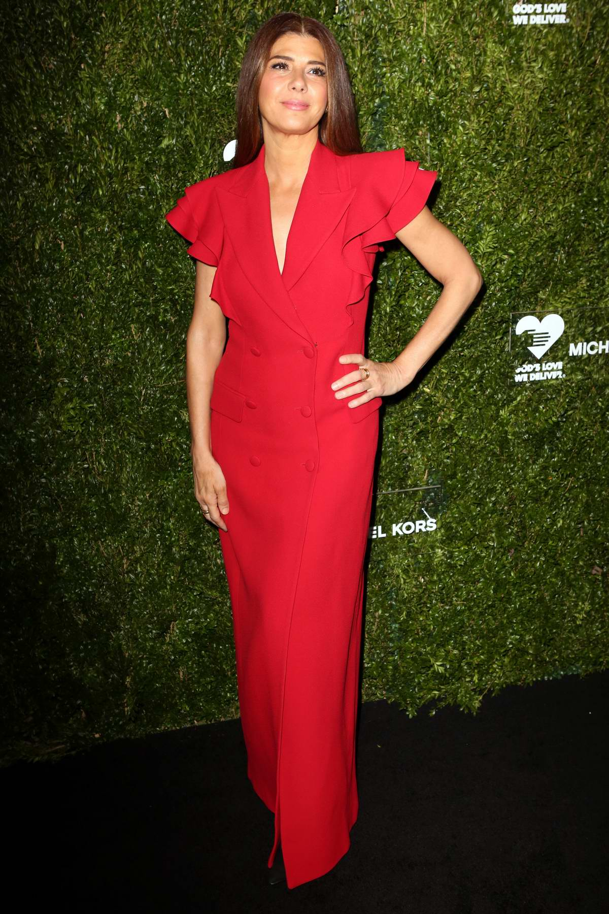 Marisa Tomei attends God's Love We Deliver 13th Annual Golden Heart Awards Celebration at Cipriani South Street in New York City