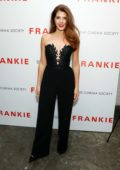 Marisa Tomei attends the New York Screening of 'Frankie' at Metrograph in New York City