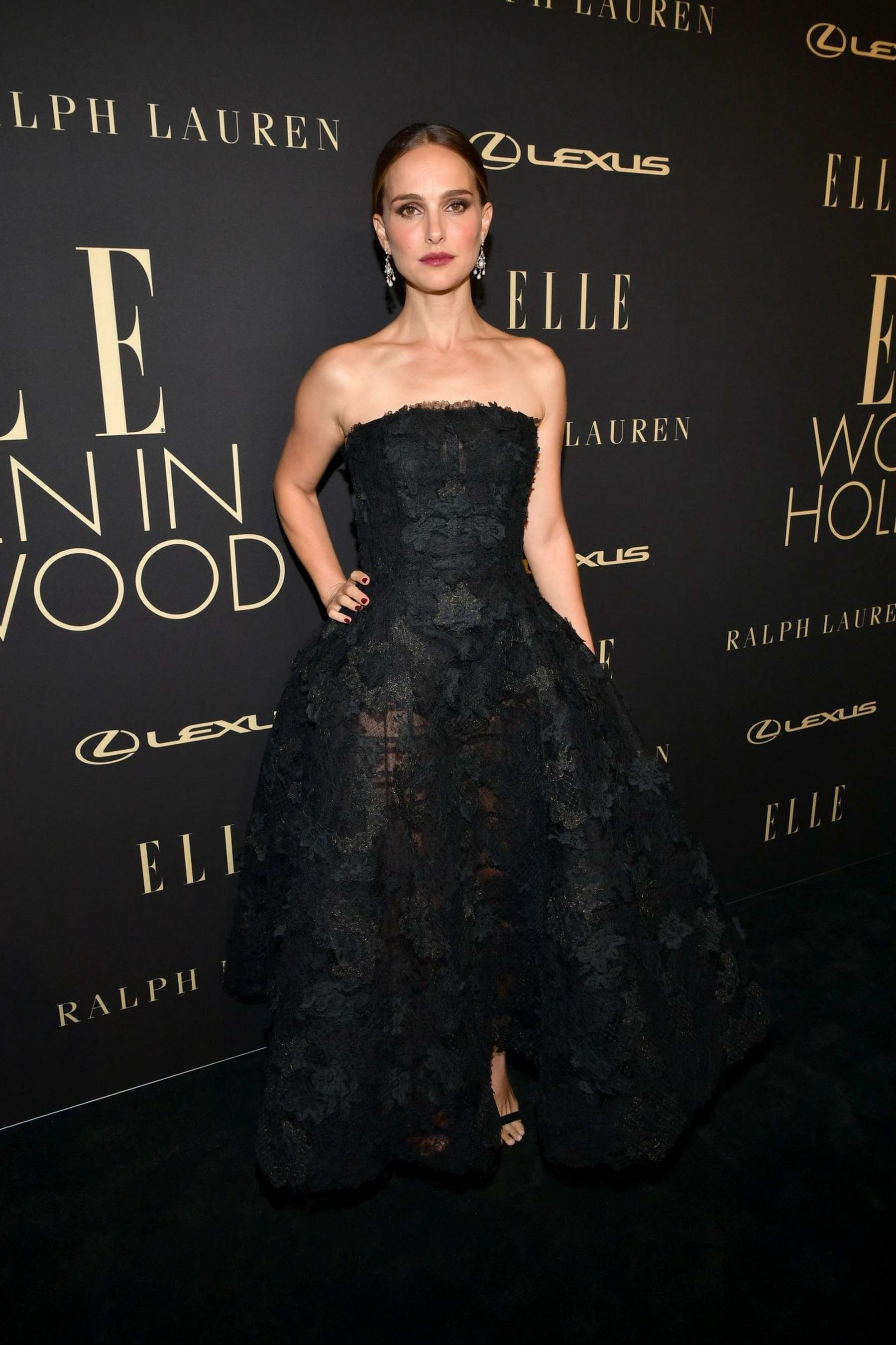 Natalie Portman attends ELLE's 26th Annual Women In Hollywood Celebration at The Four Seasons Hotel in Beverly Hills, California