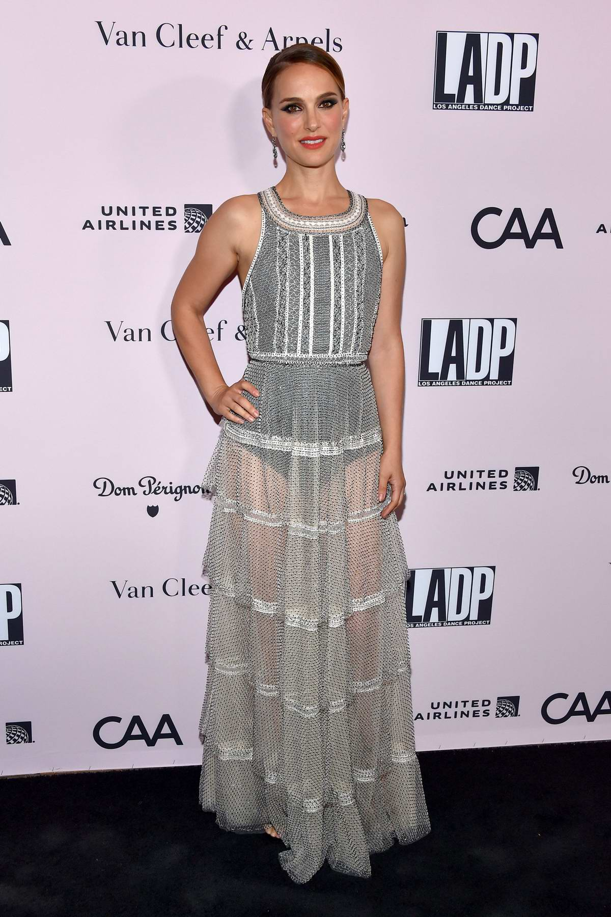Natalie Portman attends the LA Dance Project Gala at Hauser & Wirth in Los Angeles