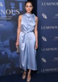 Nathalie Emmanuel attends the Luminous BFI Gala Dinner and Auction in London, UK
