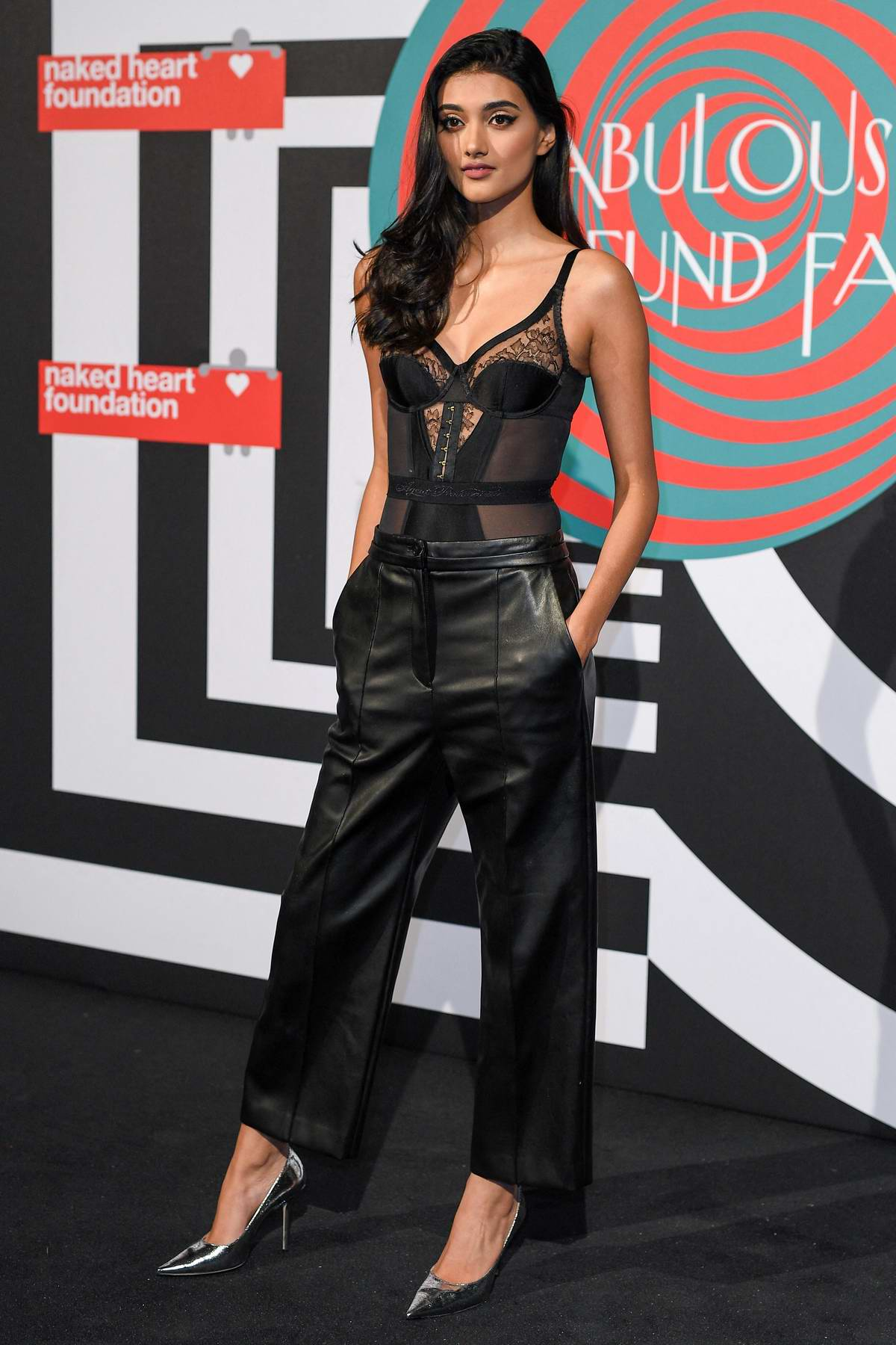 Neelam Gill attends the Naked Heart Foundation's Fabulous Fund Fair at the Brewer Street Car Park in London, UK