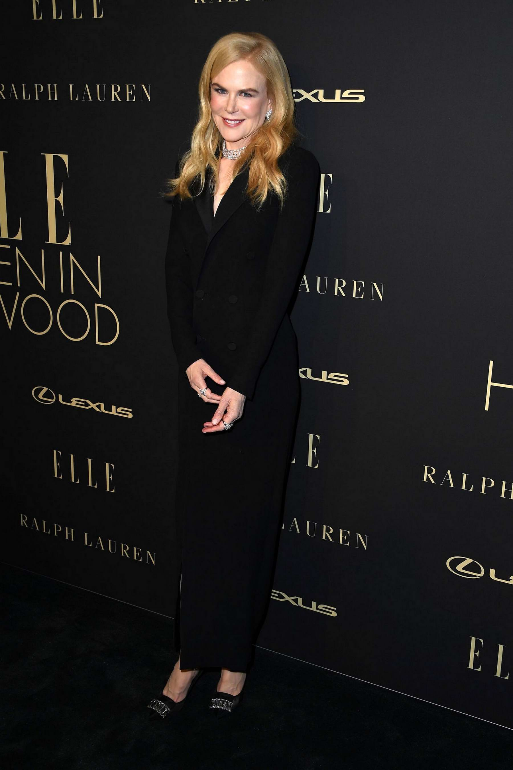 Nicole Kidman attends ELLE's 26th Annual Women In Hollywood Celebration at The Four Seasons Hotel in Beverly Hills, California