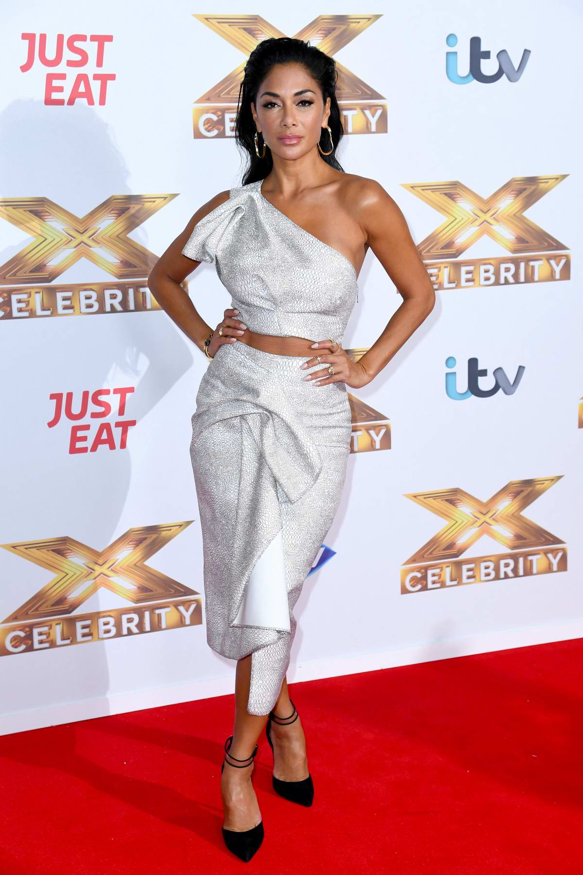 Nicole Scherzinger attends a photocall for X-Factor Celebrity in London, UK