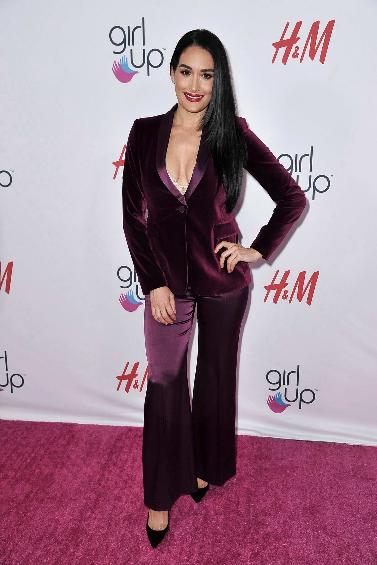 Nikki Bella attends the 2nd Annual Girl Up #GirlHero Awards at the Beverly Wilshire Hotel in Beverly Hills, Los Angeles