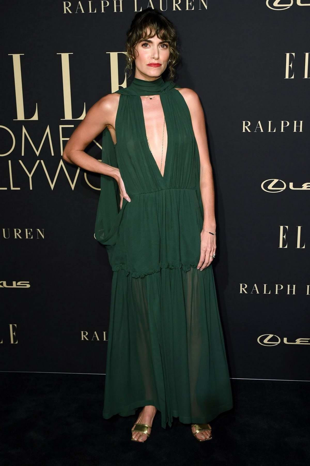 Nikki Reed attends ELLE's 26th Annual Women In Hollywood Celebration at The Four Seasons Hotel in Beverly Hills, California