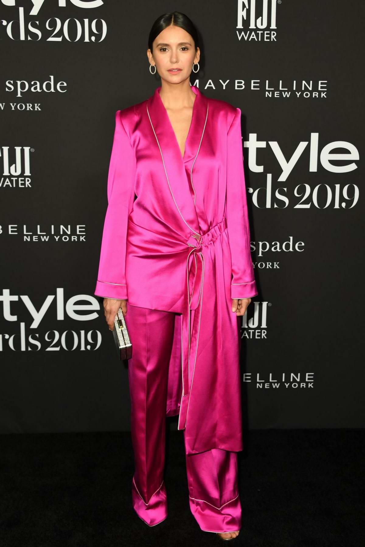 Nina Dobrev attends the 5th Annual InStyle Awards in Los Angeles