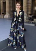 Olga Kurylenko attends the L'Oreal Paris Spring/Summer 2020 show during Paris Fashion Week in Paris, France