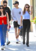 Olivia Jade and Isabella Rose Giannulli grab lunch together in Beverly Hills, Los Angeles