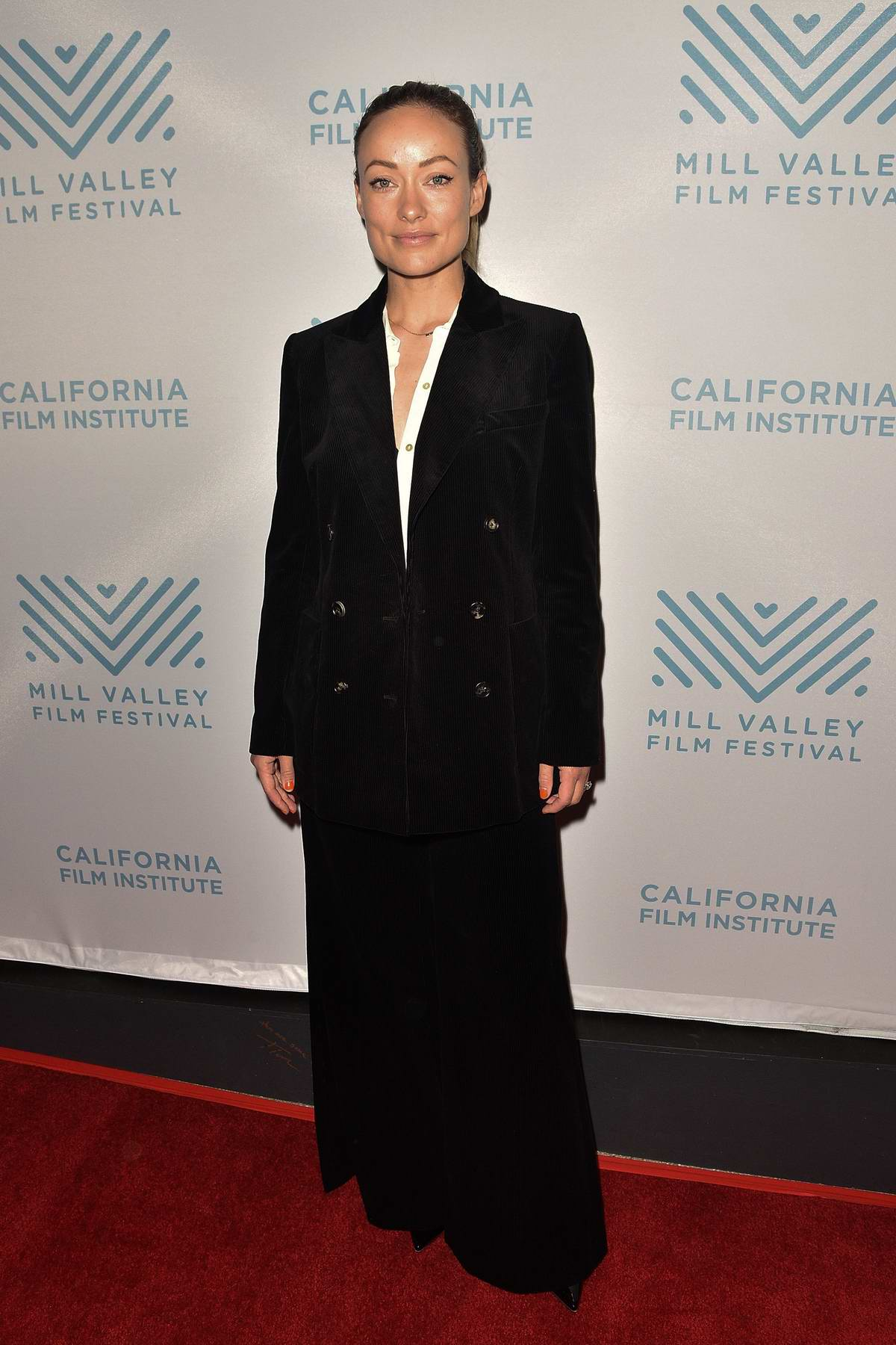 Olivia Wilde attends the 42nd Mill Valley Film Festival in Mill Valley, California