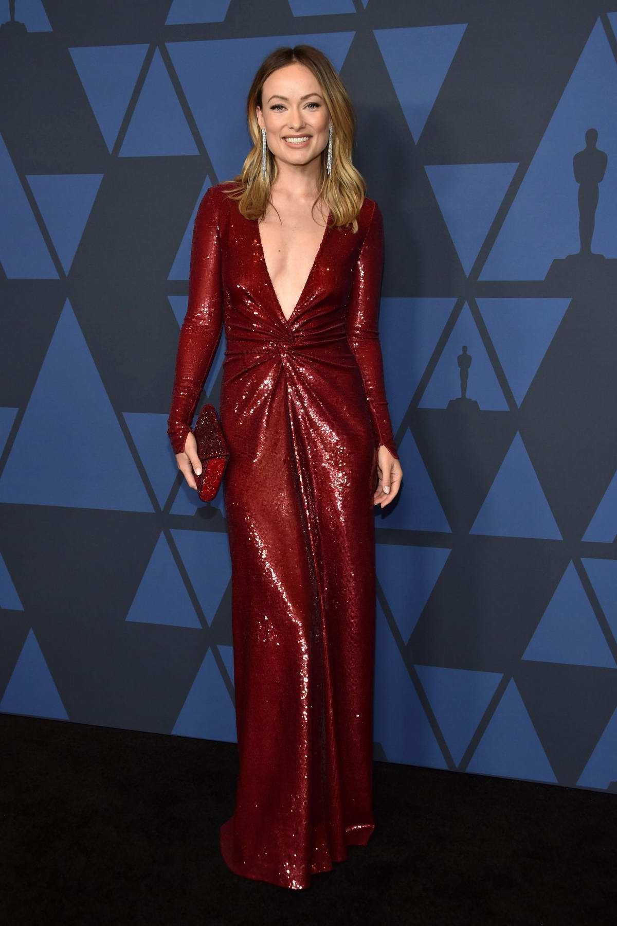 Olivia Wilde attends the Academy of Motion Picture Arts and Sciences' 11th Annual Governors Awards in Hollywood, California