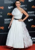 Penelope Cruz receives Donostia Award during 67th San Sebastian Film Festival at Kursaal Palace in San Sebastian, Spain