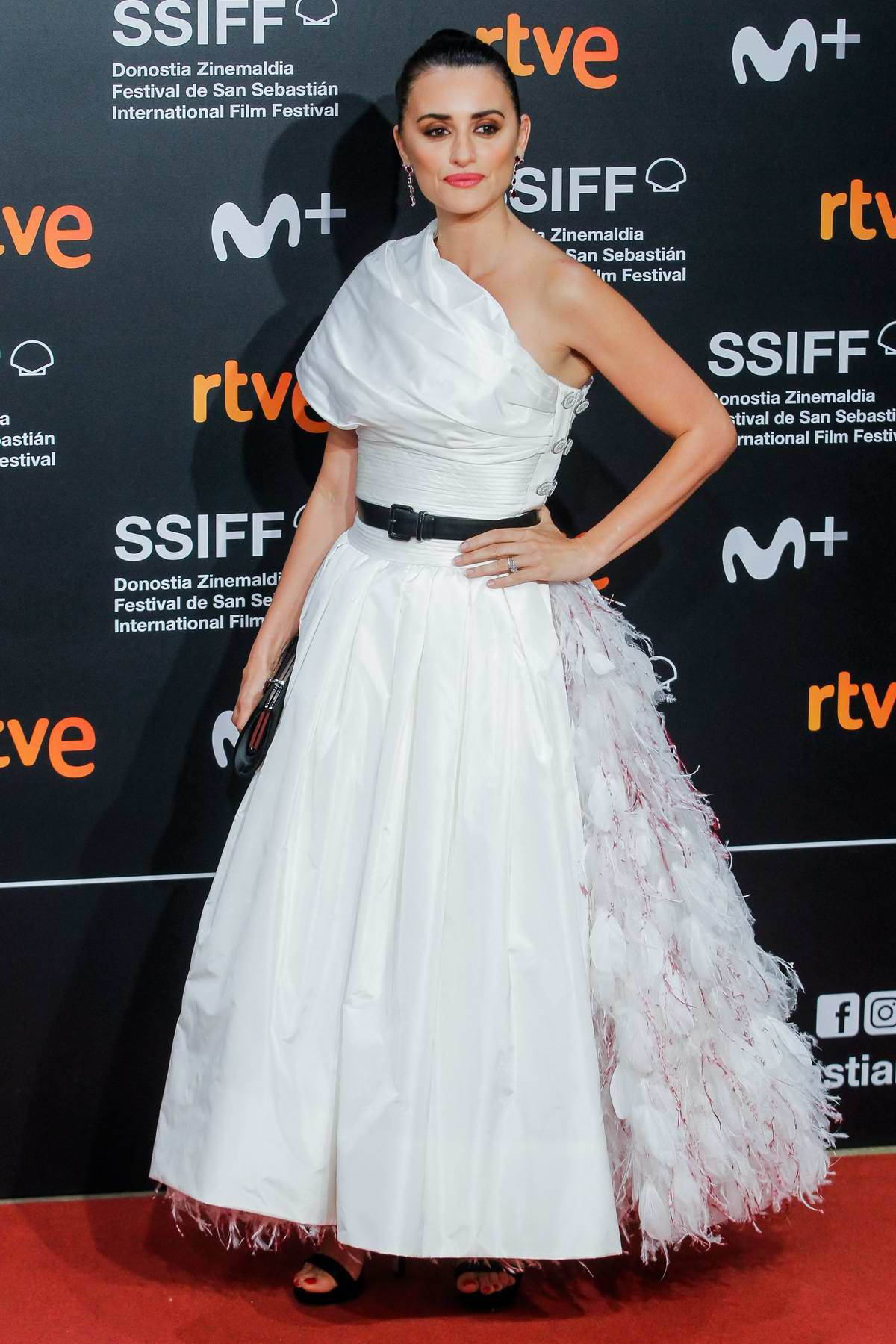 Penelope Cruz receives Donostia Award during 67th San Sebastian Film Festival at Kursaal Palace in San Sebastian, Spain