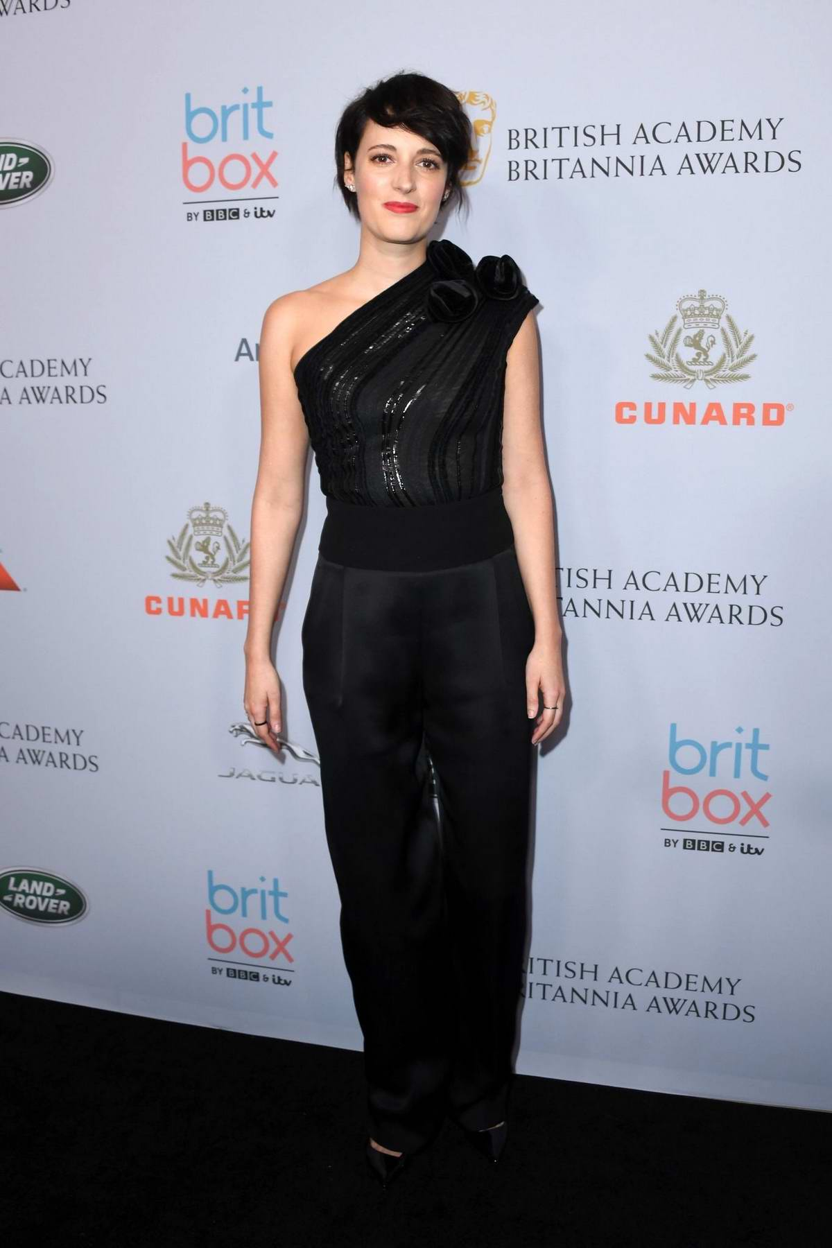 Phoebe Waller-Bridge attends the British Academy Britannia Awards 2019 in Beverly Hills, California