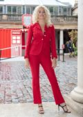 Pixie Lott surprises attendees at Coca-Cola's Ultimate Photo Booth in Covent Garden, London, UK