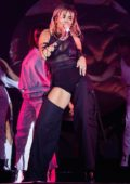 Rita Ora performs on stage during the American Express Gold Launch at Casino del Bosque in Mexico City, Mexico