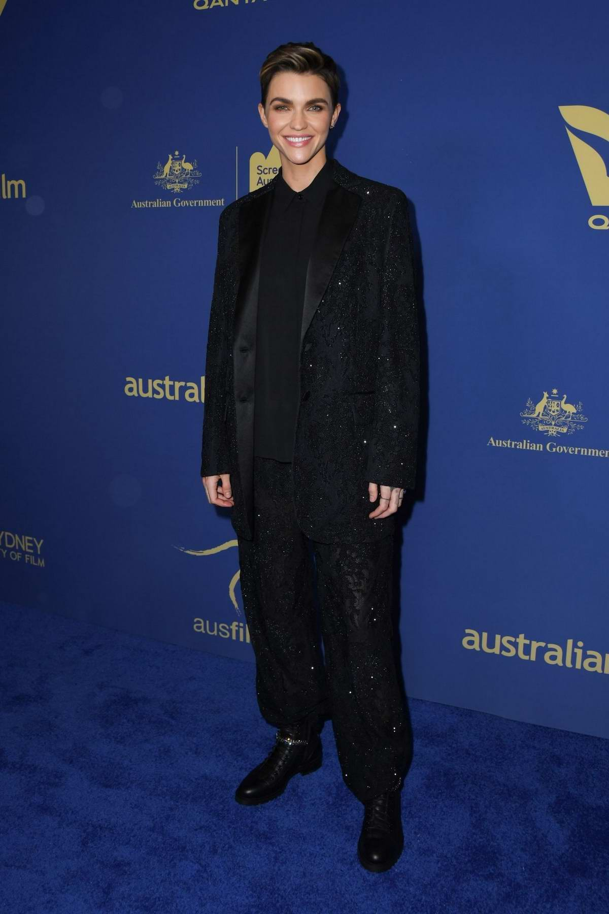 Ruby Rose attends the 2019 Australians In Film Awards at InterContinental Los Angeles Century City in Los Angeles