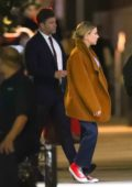 Scarlett Johansson and Colin Jost spotted during a night out in New York City