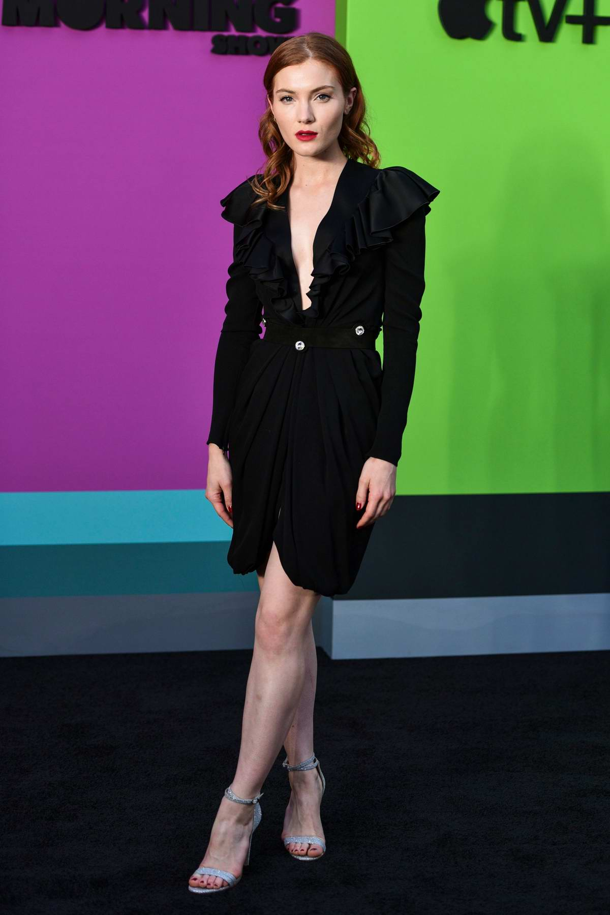 Skyler Samuels attends the Premiere of Apple TV+'s 'The Morning Show' at Lincoln Center in New York City